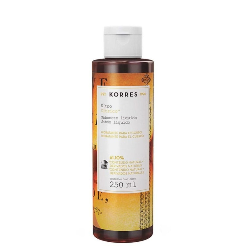 Korres Cítrico - Sabonete Líquido 250ml