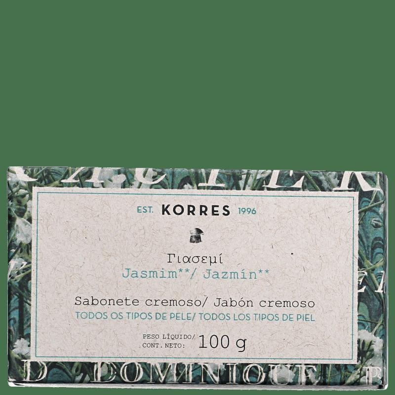 Korres Jasmim - Sabonete em Barra 100g