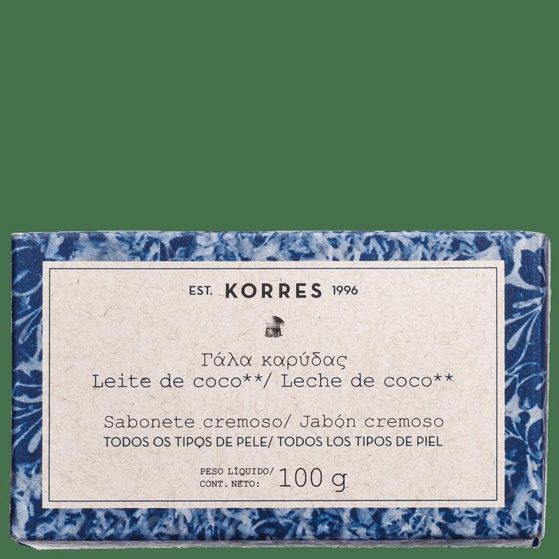 Korres Leite de Coco Hidratante - Sabonete em Barra 100g