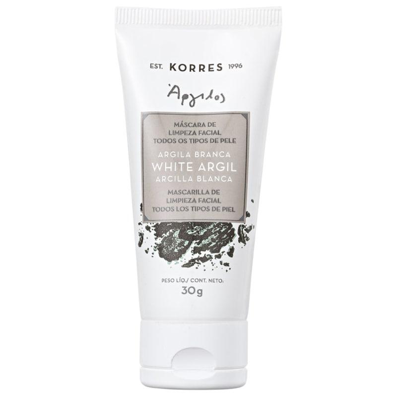 Korres Argila Branca - Máscara de Limpeza Facial 30g