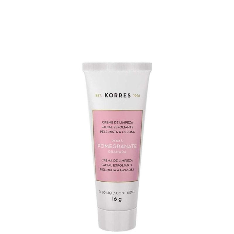 Korres Pomegranate - Creme de Limpeza Facial Esfoliante 16g