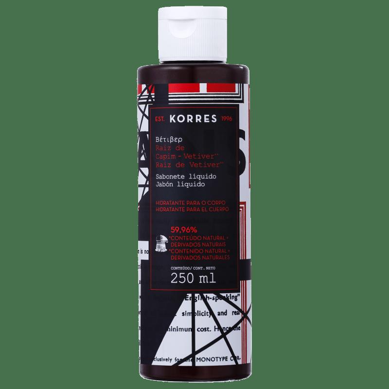 Korres Raiz de Capim-Vetiver - Sabonete Líquido 250ml