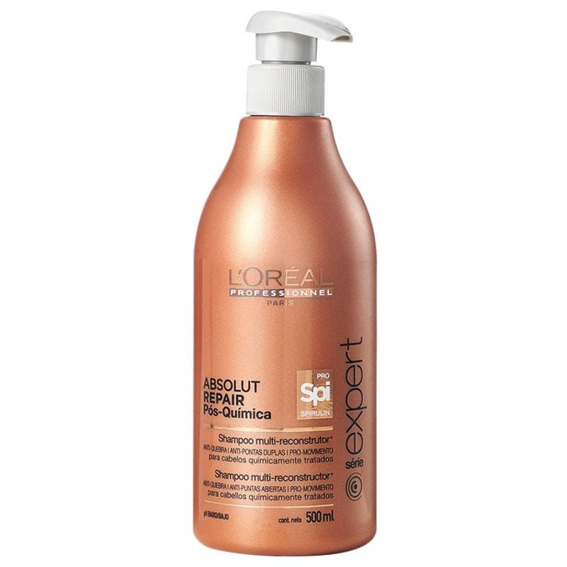 L'Oréal Professionnel Absolut Repair Pós-Química Multi-reconstrutor - Shampoo 500ml