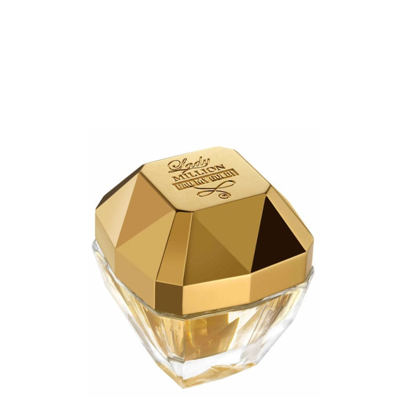 Lady Million Eau My Gold! Paco Rabanne Eau de Toilette - Perfume Feminino 30ml