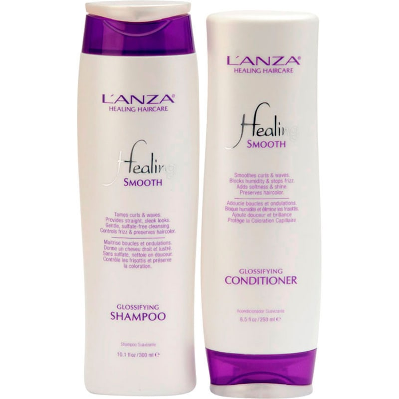 L'Anza Healing Smooth Duo Kit (2 Produtos)