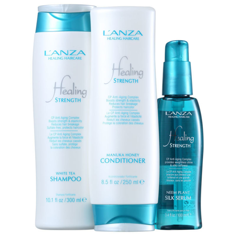 L'Anza Healing Strength Anti-Aging Kit (3 Produtos)