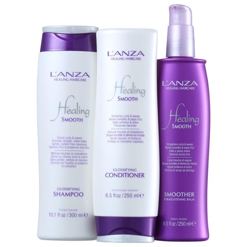L'Anza Smooth Holiday Kit (3 Produtos)