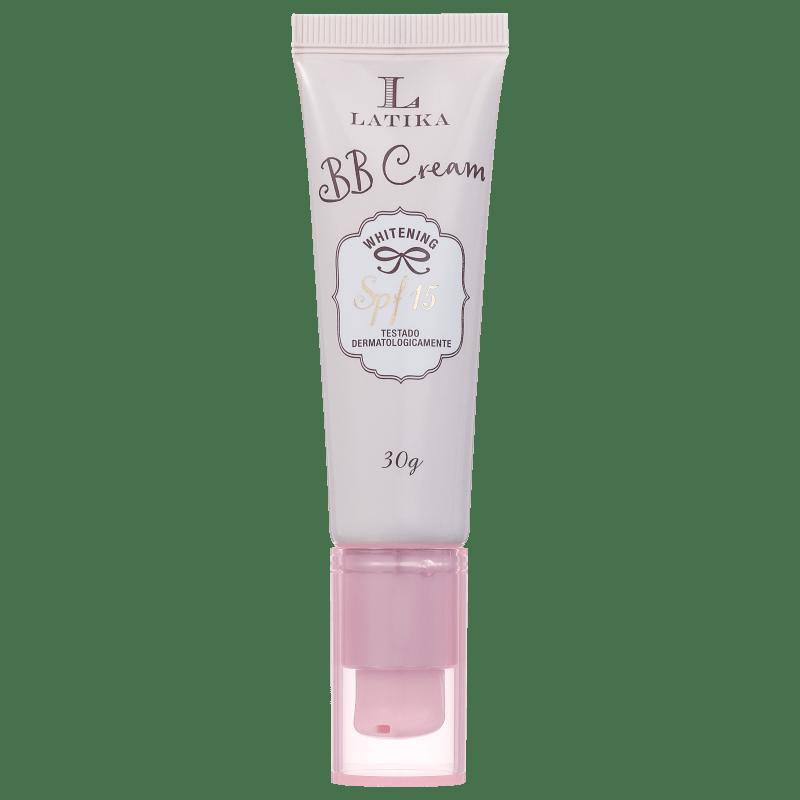 Latika Whitening FPS 15 Bege Escuro - BB Cream 30g