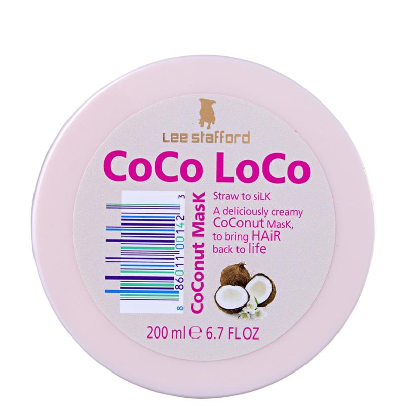 Lee Stafford Coco Loco Coconut Mask - Máscara de Tratamento 200ml