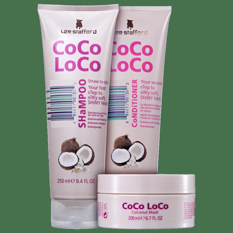 Kit Lee Stafford Coco Loco Triplo (3 Produtos)