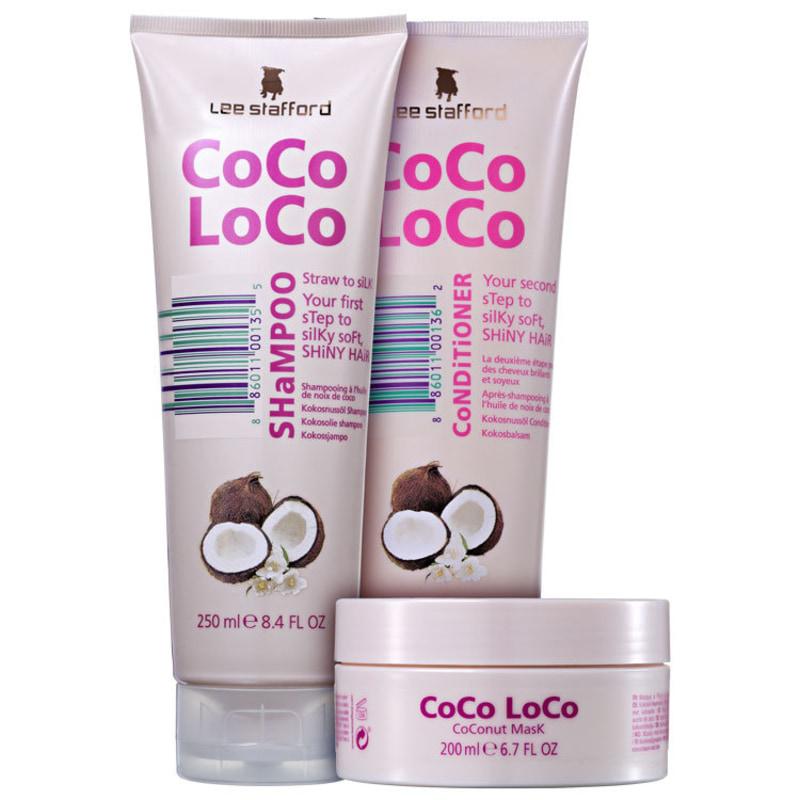 Lee Stafford Coco Loco Triplo Kit (3 Produtos)