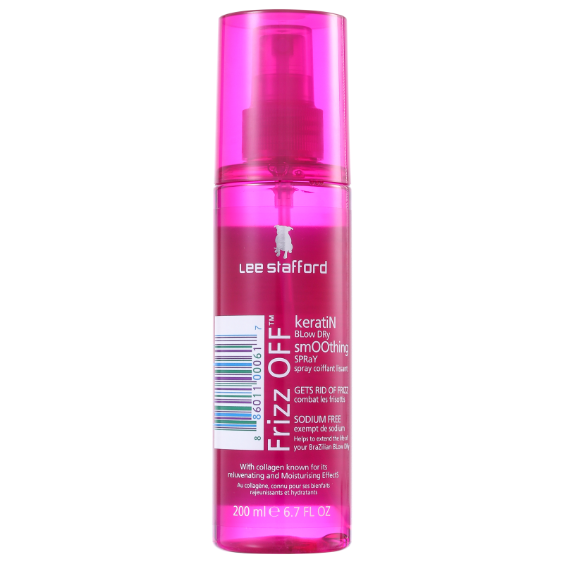 Lee Stafford Frizz Off Keratin Blow Dry Smoothing - Spray Antifrizz 200ml