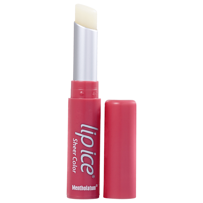 Lip Ice Sheer Color Morango - Hidratante Labial 2g