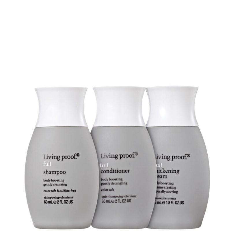 Living Proof Full Cream Travel Kit (3 Produtos)