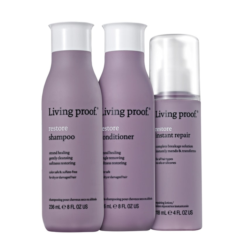 Living Proof Restore Repair Kit (3 Produtos)