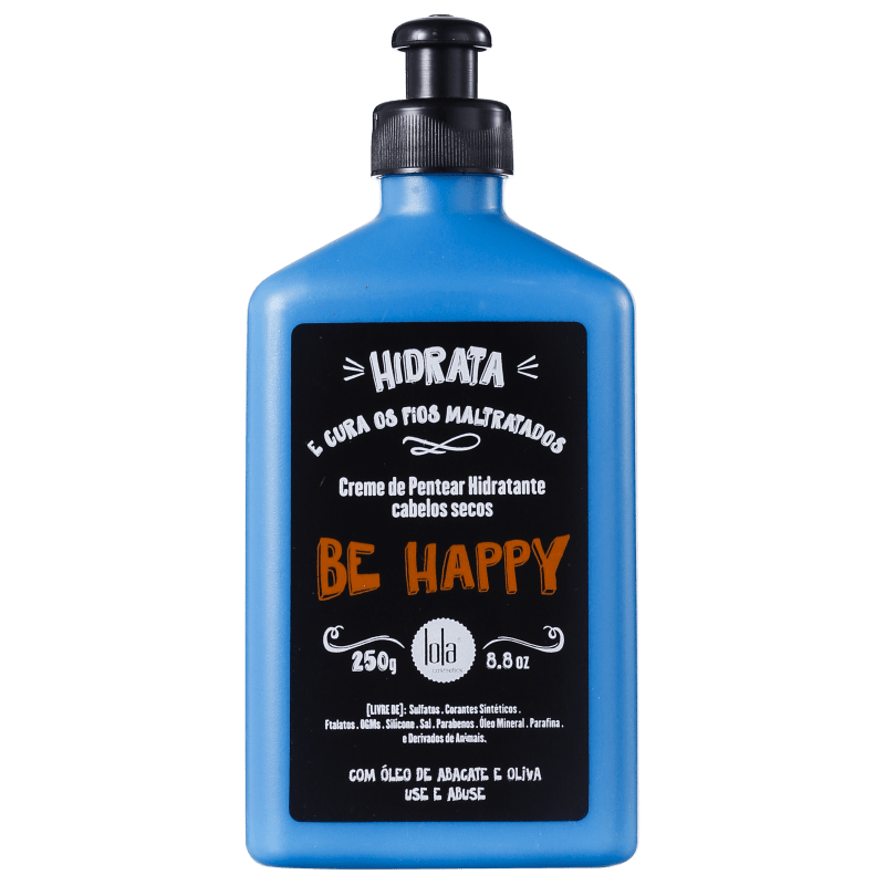 Lola Cosmetics Be Happy - Creme de Pentear 250ml