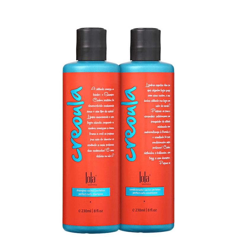 Lola Cosmetics Creoula Cachos Perfeitos Duo Kit (2 Produtos)