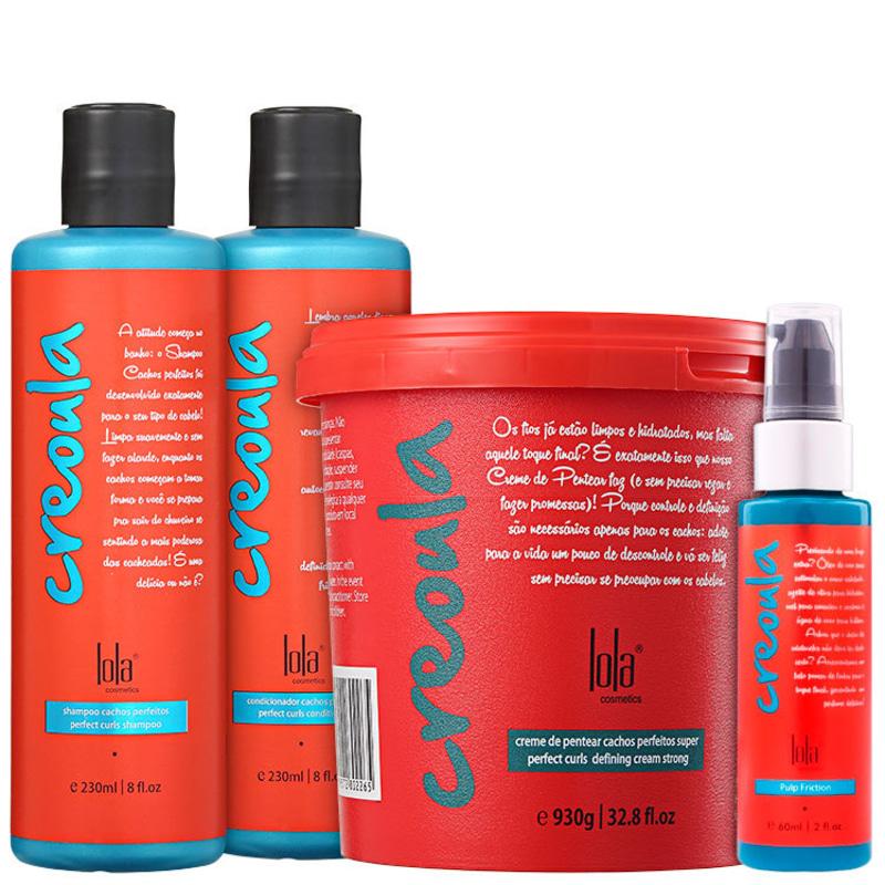 Lola Cosmetics Creoula Cachos Perfeitos Full Kit (4 Produtos)