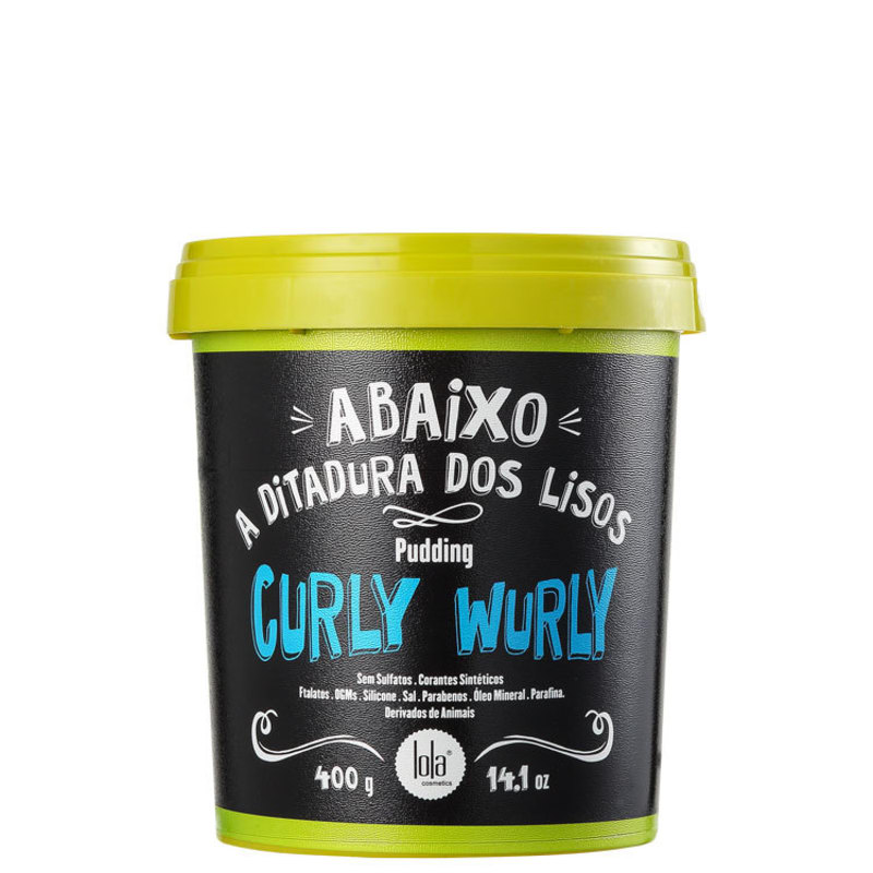 Lola Cosmetics Curly Wurly Pudding - Leave-in 400g