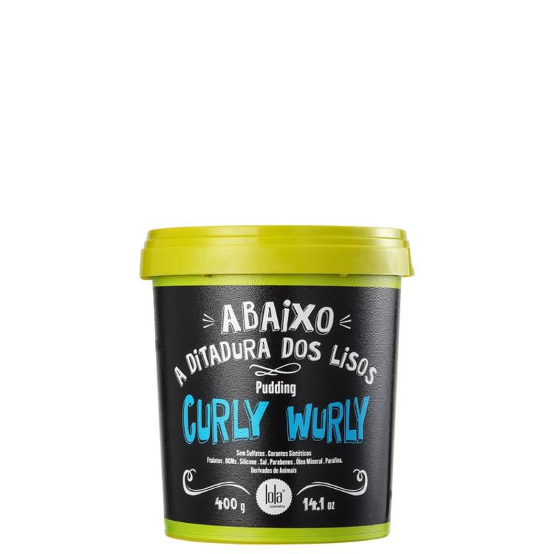 Lola Cosmetics Curly Wurly Pudding - Máscara sem Enxágue 400g