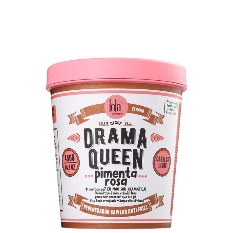 Lola Cosmetics Drama Queen Pimenta Rosa - Máscara Capilar 450g