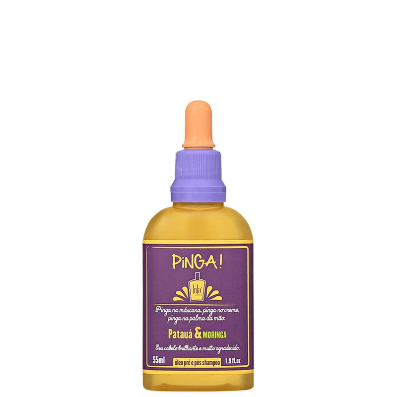 Lola Cosmetics Pinga Patauá & Moringa - Óleo Capilar 55ml