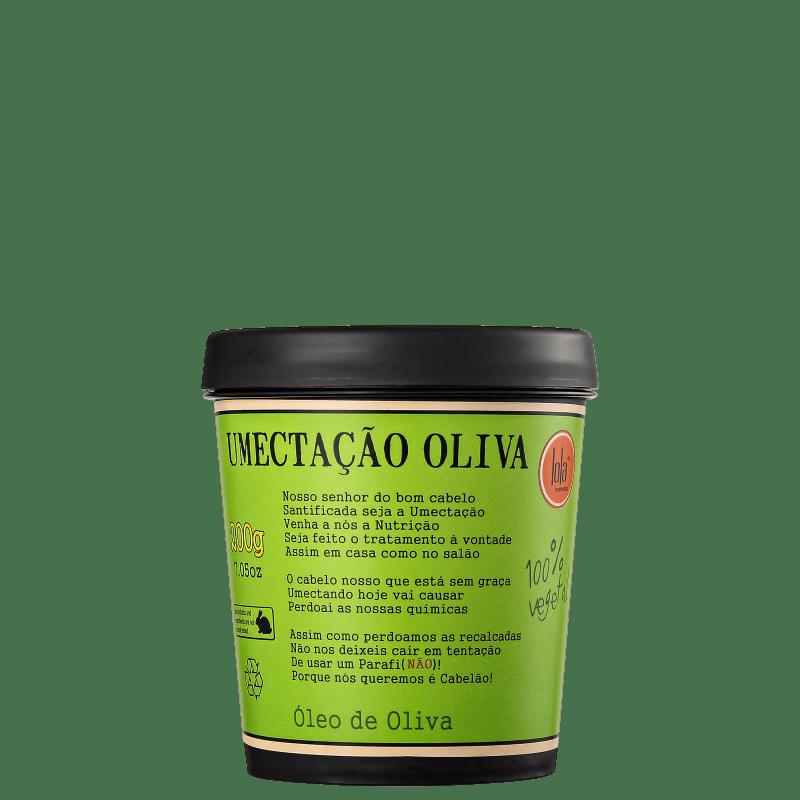 Lola Cosmetics Umectação Oliva - Máscara Umectante 200g