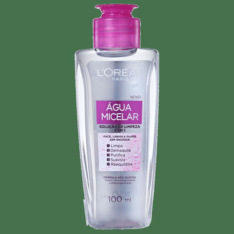 L'Oréal Paris Dermo Expertise Água Micelar 5 em 1 - Água Demaquilante 100ml