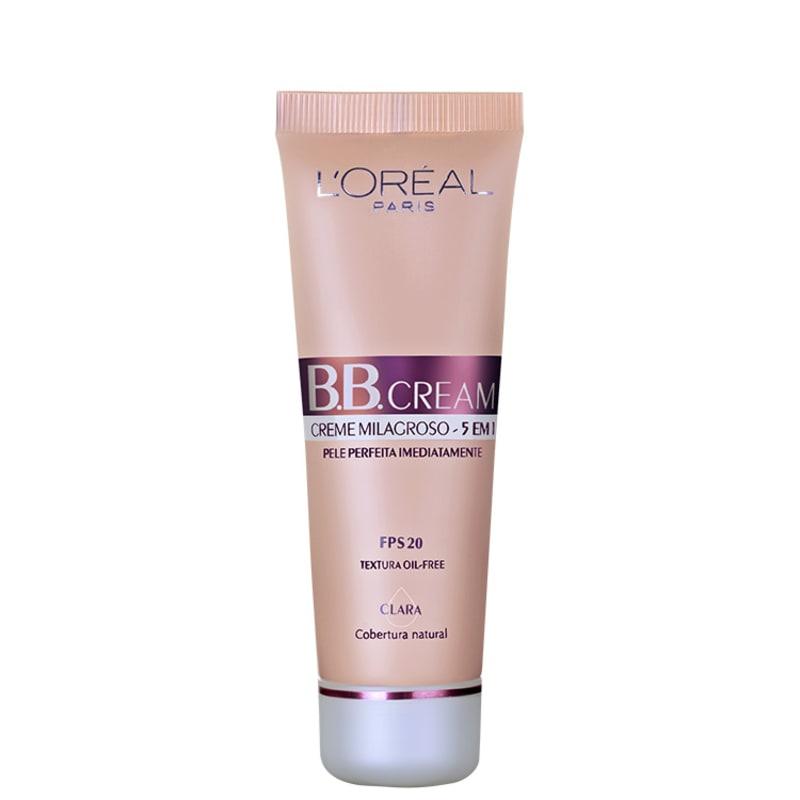 L'Oréal Paris Creme 5 em 1 FPS 20 Claro - BB Cream 50ml