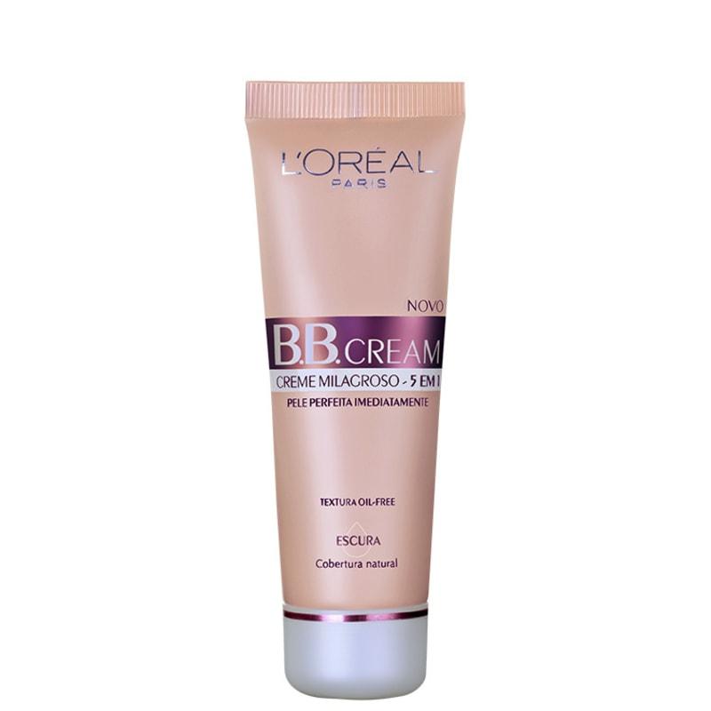 L'Oréal Paris Creme 5 em 1 FPS 20 Escuro - BB Cream 50ml