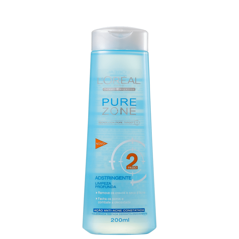 L'Oréal Paris Dermo-Expertise Pure Zone - Adstringente Facial 200ml