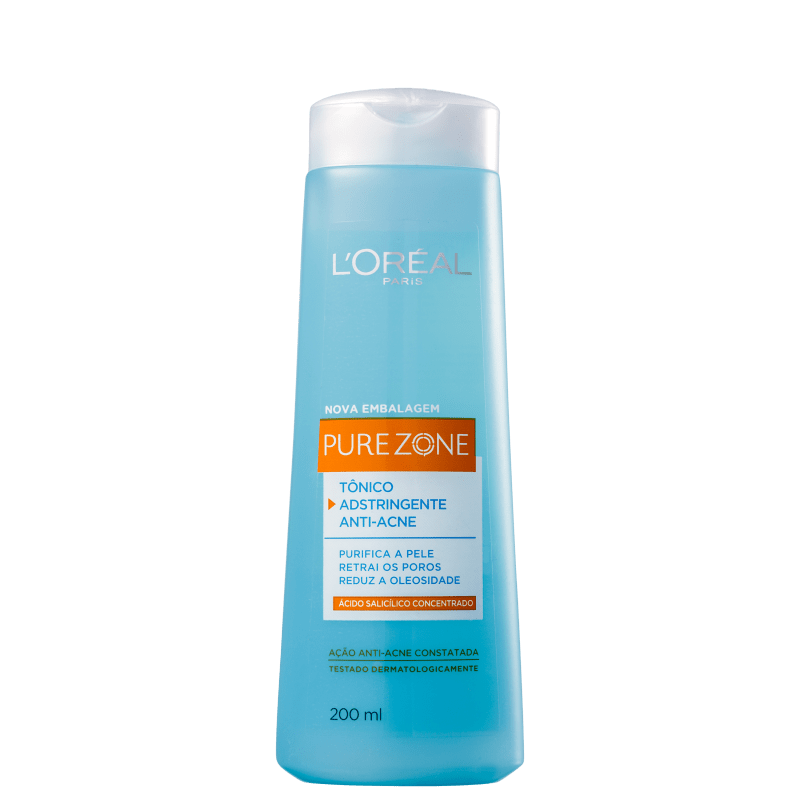 L'Oréal Paris Dermo-Expertise Pure Zone Anti-Cravos - Adstringente Facial 200ml