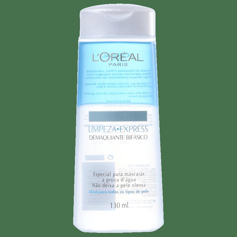 L'Oréal Paris Limpeza Express Dermo-Expertise - Demaquilante Bifásico 130ml