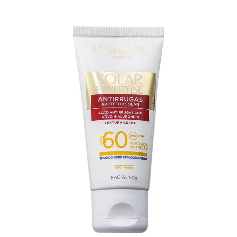 L'Oréal Paris Solar Expertise Antirrugas FPS 60 - Protetor Solar Facial 50g