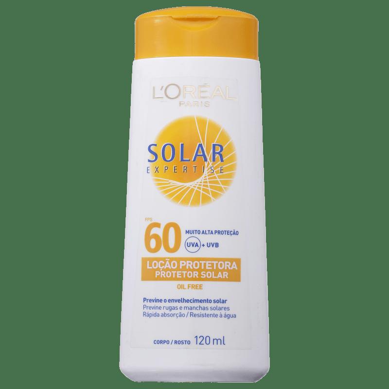 L'Oréal Paris Solar Expertise FPS 60 - Protetor Solar em Loção 120ml
