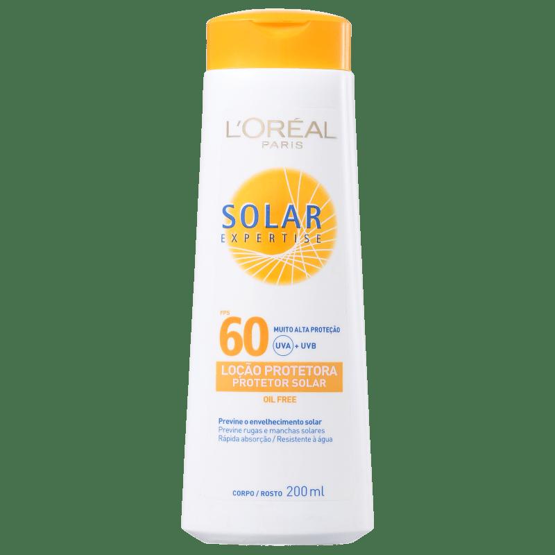 L'Oréal Paris Solar Expertise FPS 60 - Protetor Solar em Loção 200ml