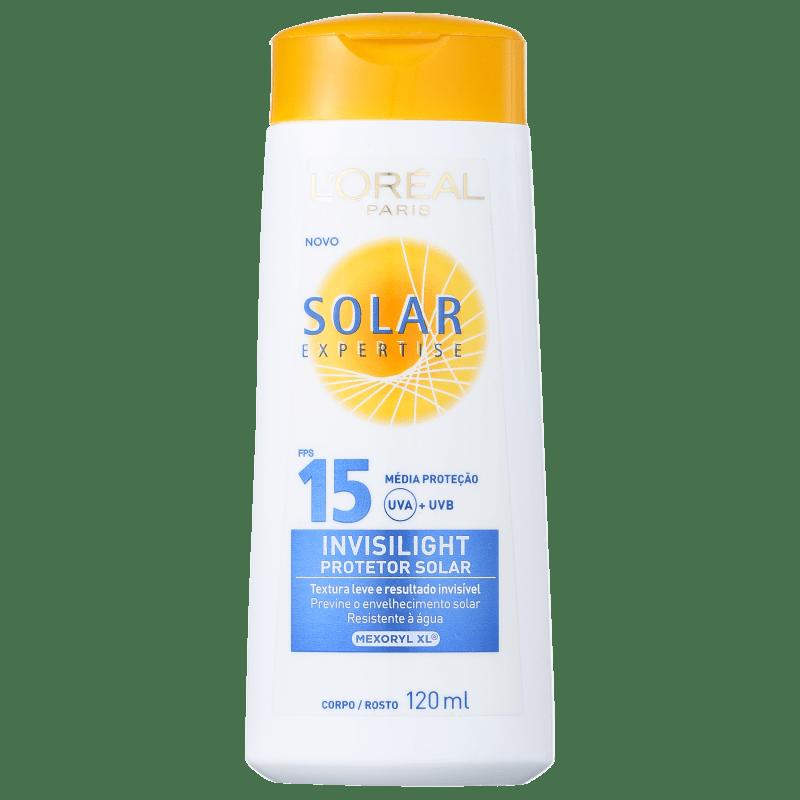 L'Oréal Paris Solar Expertise Invisilight FPS 15 - Protetor Solar 120ml