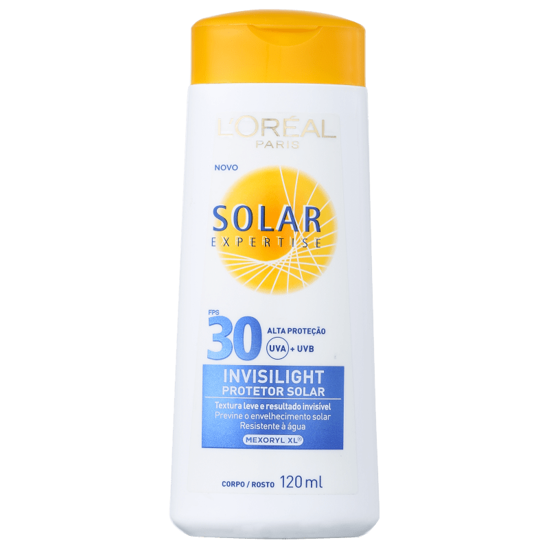 L'Oréal Paris Solar Expertise Invisilight FPS 30 - Protetor Solar 120ml