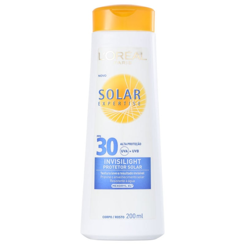 L'Oréal Paris Solar Expertise Invisilight FPS 30 - Protetor Solar 200ml