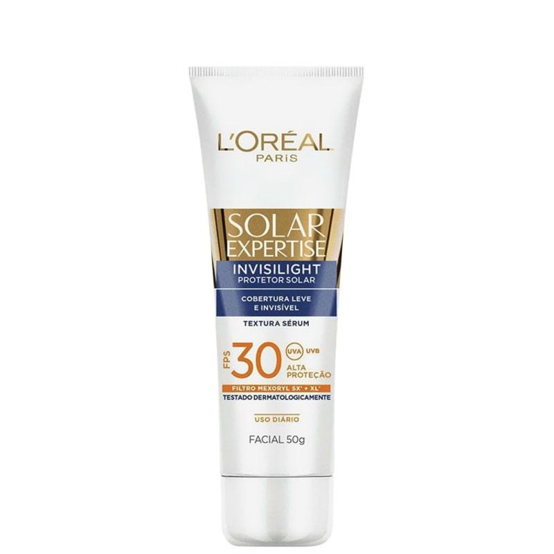 L'Oréal Paris Solar Expertise Invisilight FPS 30 - Protetor Solar Facial 50g