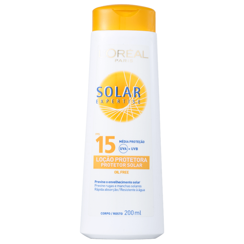 L´Oréal Paris Solar Expertise Loção FPS 15 - Protetor Solar 200ml