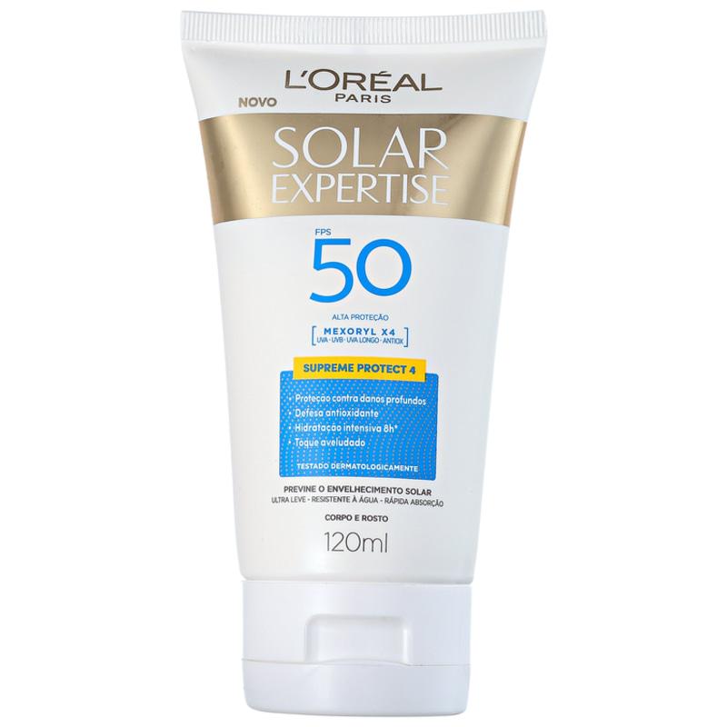 L'Oréal Paris Solar Expertise Supreme Protect 4 FPS 50 - Protetor Solar Facial 120ml