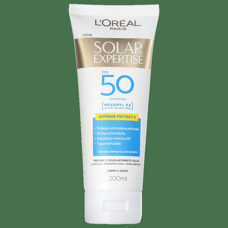 L'Oréal Paris Solar Expertise Supreme Protect 4 FPS 50 - Protetor Solar Facial 200ml