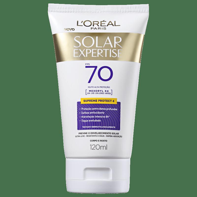 L'Oréal Paris Solar Expertise Supreme Protect 4 FPS 70 - Protetor Solar Facial 120ml