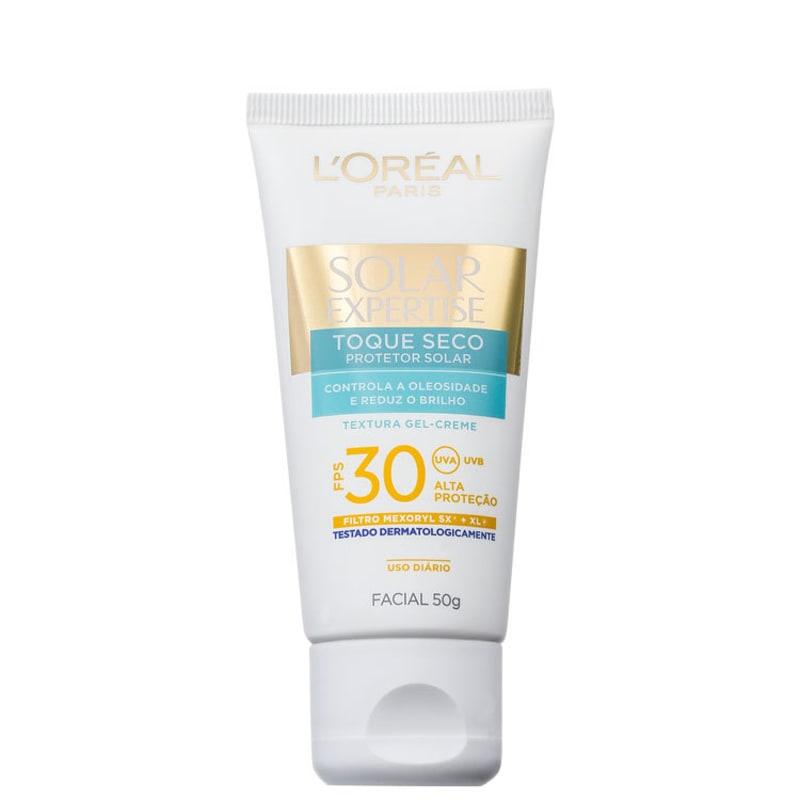 L'Oréal Paris Solar Expertise Toque Seco FPS 30 - Protetor Solar Facial 50g