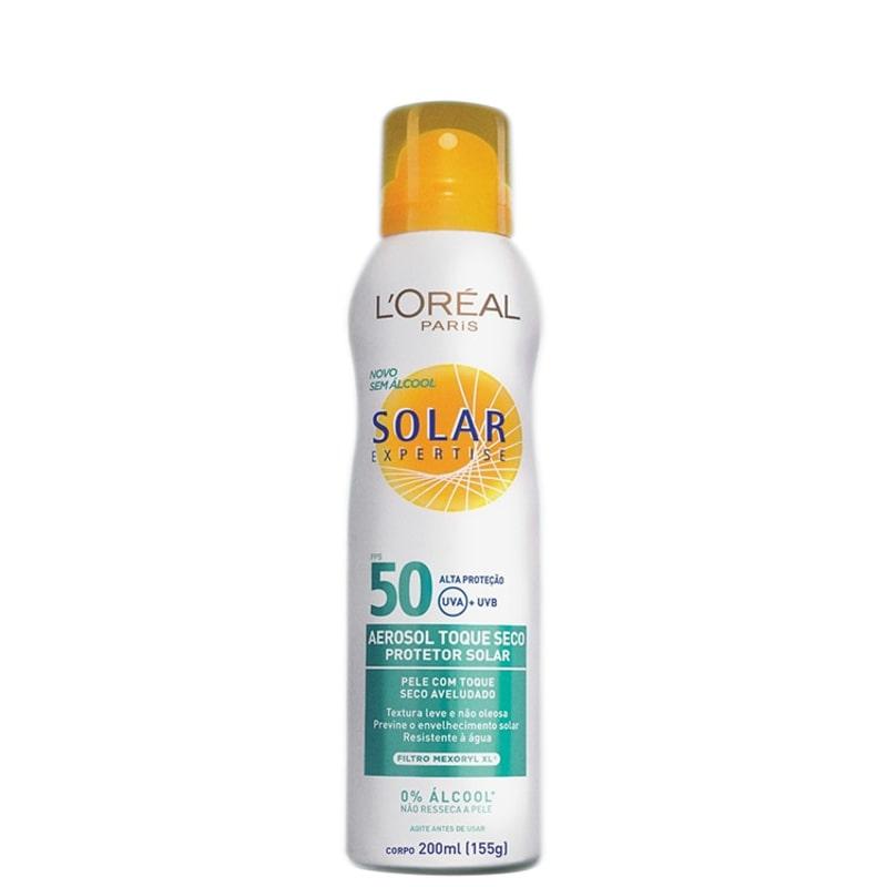 L'Oréal Paris Solar Expertise Toque Seco FPS 50 - Protetor Solar em Spray 200ml