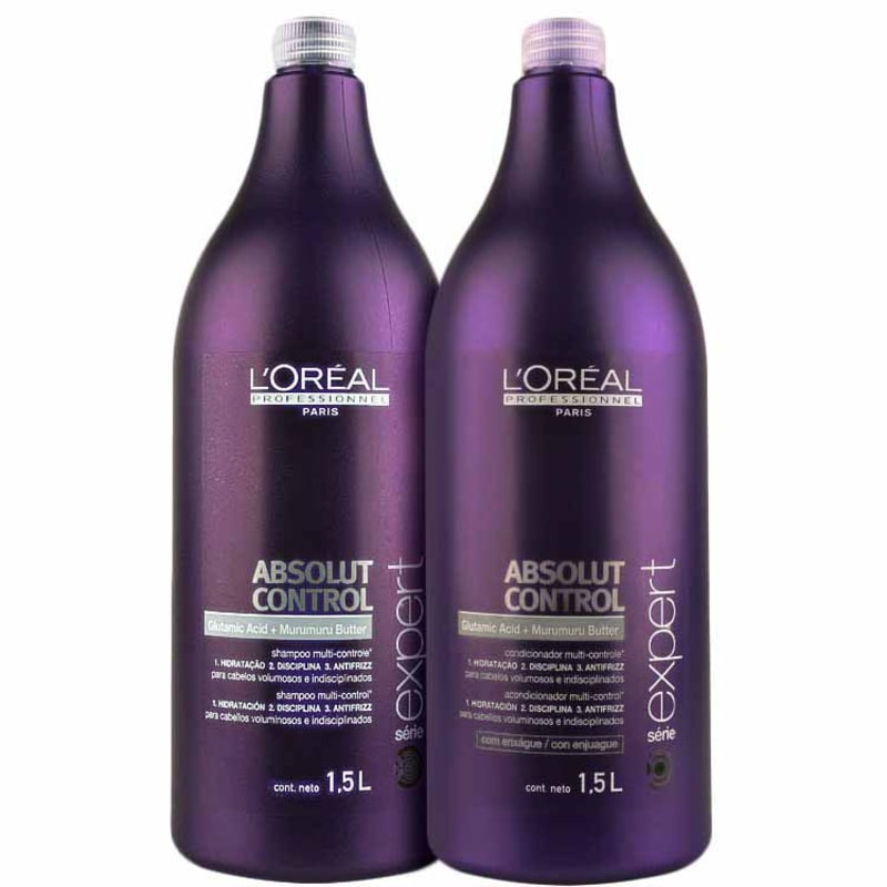 Kit L'Oréal Professionnel Expert Absolut Control Duo Salon (2 Produtos)
