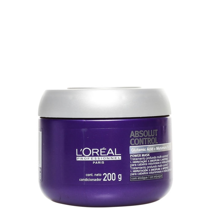 L'Oréal Professionnel Absolut Control Power Mask - Máscara de Tratamento 200g