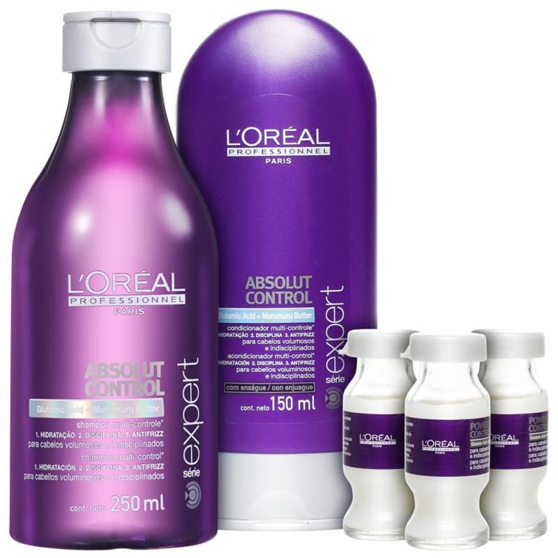 L'Oréal Professionnel Absolut Control Treatment Kit (3 Produtos)