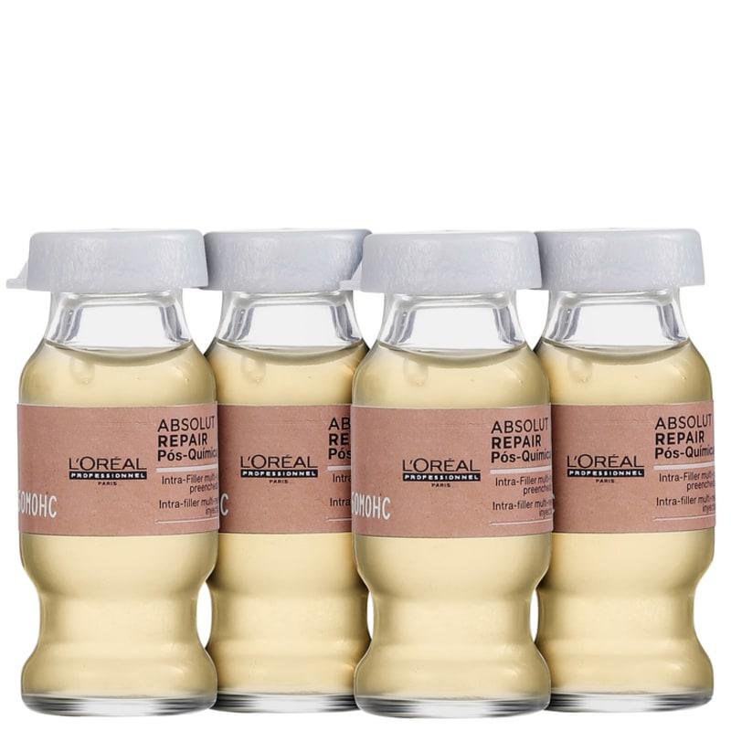 L'Oréal Professionnel Absolut Repair Pós-Química Intra-Filtre Multi-Reconstrutor - Ampola 4 x10ml